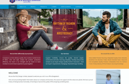 Professional Buying House Company Web Design and Development Project by Revelation BD for RMJ Design