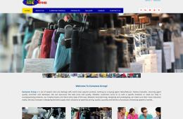 Professional Web Design and Development Project by Revelation BD for EUROZONE GROUP