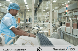 Professional Factory Photography Project for AG Textile Mills - Factory Photography in Bangladesh - By Revelation BD