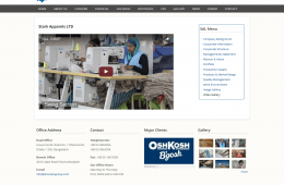 Dynamic YouTube Video Content Page - Professional Web Design and Development Project by Revelation BD for A Hossain Group