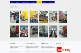 Dynamic Image Gallery - Professional Web Design and Development Project by Revelation BD for EUROZONE GROUP