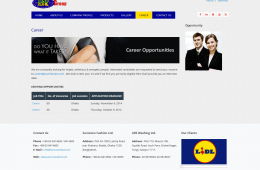 Dynamic Career Gallery - Professional Web Design and Development Project by Revelation BD for EUROZONE GROUP