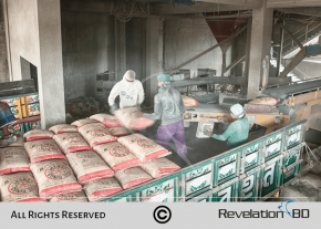 Factory Photography for Five Rings Cement Factory, Cement Loading to track Bangladesh