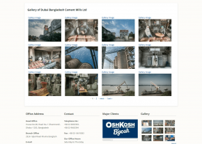 Dynamic Image gallery - Professional Web Design and Development Project by Revelation BD for A Hossain Group