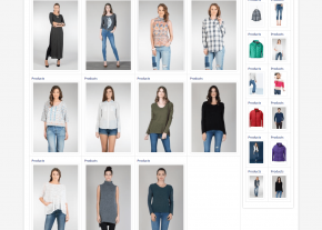 Product Gallery - Best Garments Buying House Website Design and Development Project by RevelationBD in Bangladesh for Sparkle Fashion Ltd