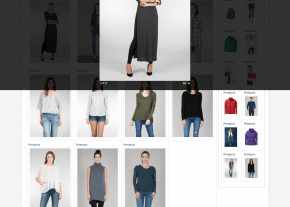 Product Pop Up on Gallery Page - Best Garments Buying House Website Design and Development Project by Revelation BD in Bangladesh for Sparkle Fashion Ltd