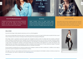 Home page - Professional Buying House Company Web Design and Development Project by Revelation BD for RMJ Design